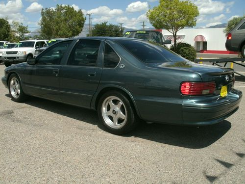 Find Used 1995 Chevrolet Impala Ss Sedan Low Miles Super