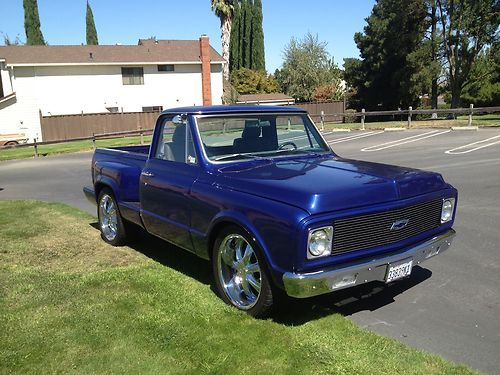 Sell Used 1972 Chevy Truck StepSide Resto Mod JUST