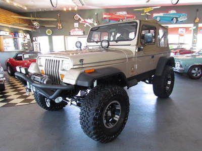 Buy Used 1994 Jeep Wrangler YJ Sahara Pro Comp Lifted 35