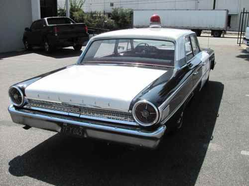 Buy New 1962 Ford Galaxie 500 Cop Car Used In The Show