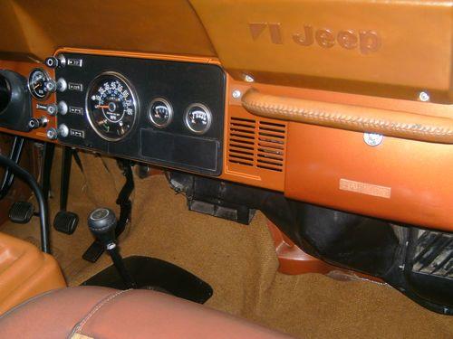 Buy Used Jeep Cj7 Laredo Copper Metallic Nutmeg Clean
