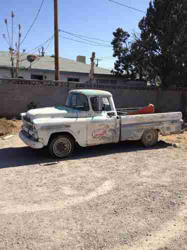 Sell Used 1958 59 Chevy Fleetside 32 Apachie In