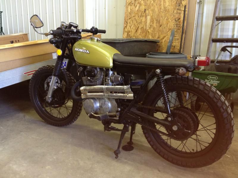 1973 Honda Cb 350 Cafe Racer Other Makes Antique Motorcycle