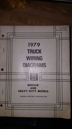 Buy 1979 Truck Wiring Diagrams, Medium and Heavy Duty