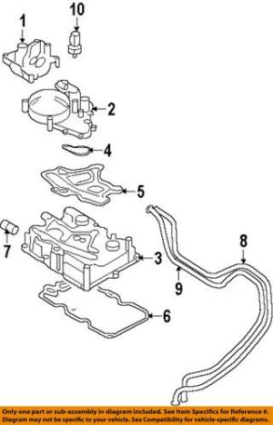 Sell FORD OEM F81Z6881BA Oil CoolerAdapter motorcycle in