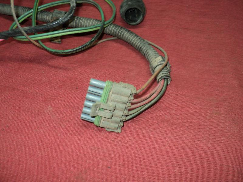 Find Dual Fuel Tank Control Switch Amp Wire Harness Chevy