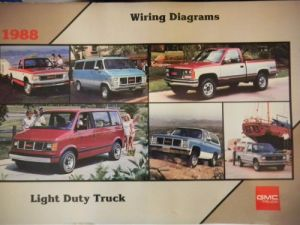 Find 1988 GMC Light Duty Truck Wiring Diagrams motorcycle
