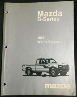 Find 1998 Mazda BSeries Truck Factory OEM Wiring Diagram