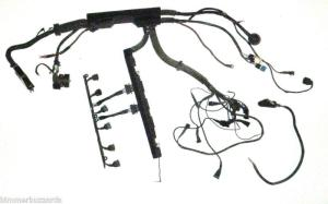 Find BMW E36 9295 OBD1 M50 VANOS MANUAL MAIN ENGINE WIRING HARNESS E30 SWAP COMPLETE motorcycle