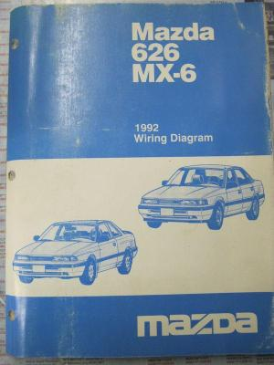 Sell 1992 Mazda 626 MX6 Wiring Diagram motorcycle in
