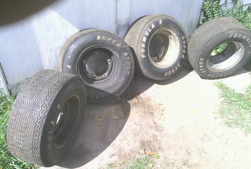 Formula 1 Car Tires