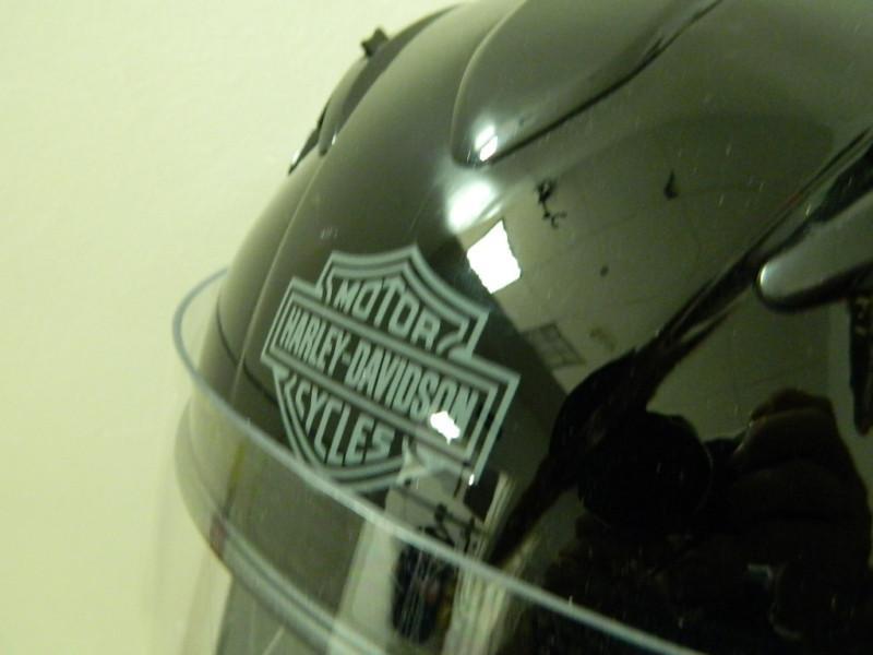 Silver Harley Motorcycle Helmets