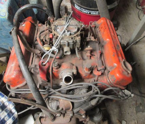Ford Cyl Engine 6 1968 Truck