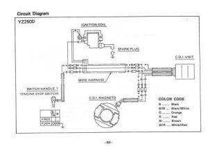 Yamaha Yz250 Wiring Diagram | Online Wiring Diagram