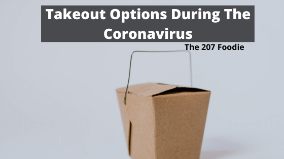 takeout options during the coronavirus