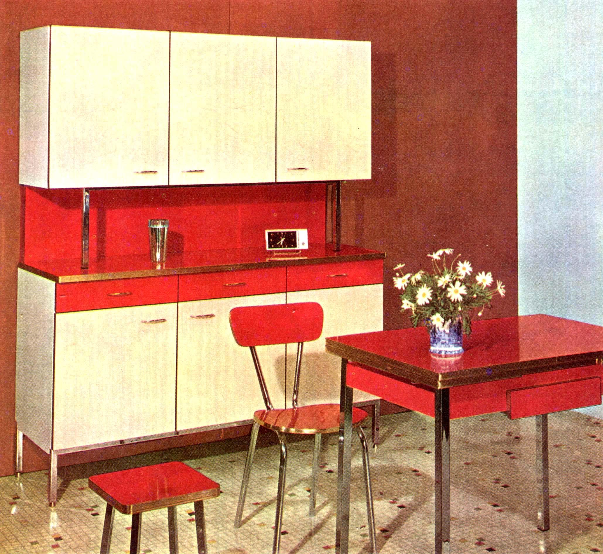 Mobilier Vintage En FORMICA Le Style Populaire Des Annes 1960
