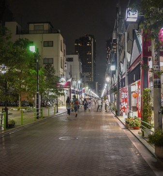 Monjayaki Alley!