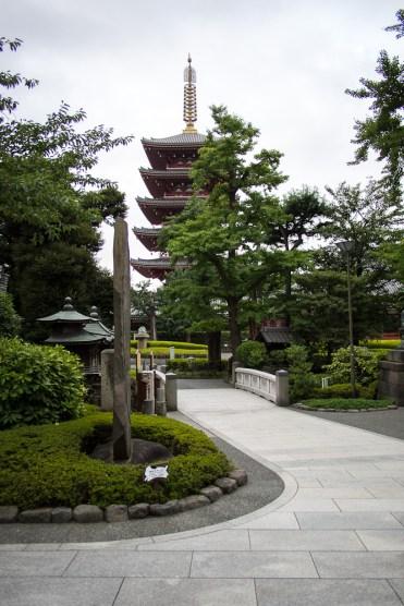 Senso-ji in the early morning hours.