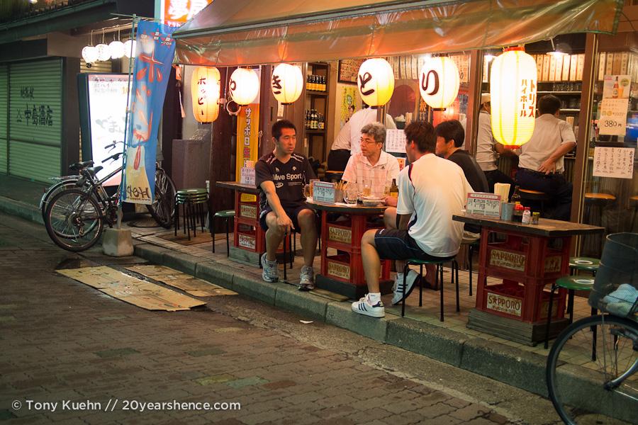 Local restaurant in Matsumoto