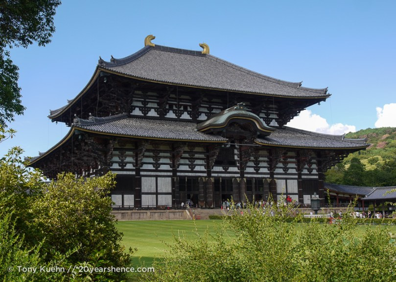 Todai-ji is indeed massive