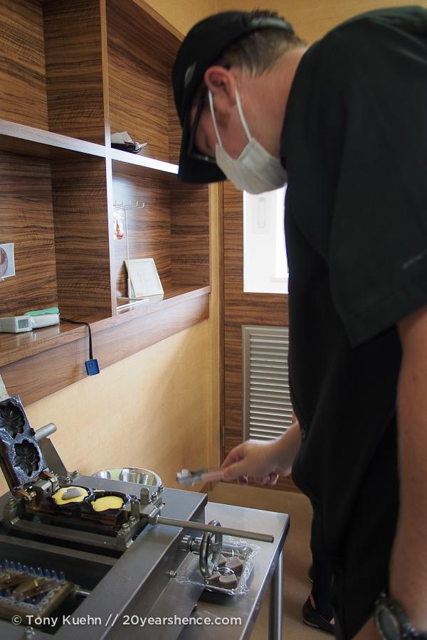 Making the momiji mangu