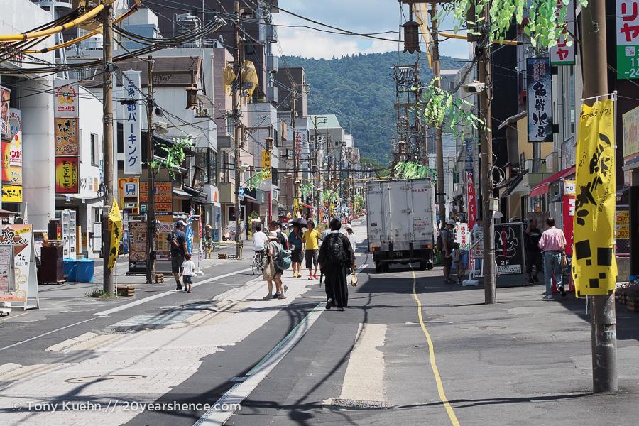 The road to Nara Park
