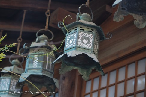 More hanging lanterns