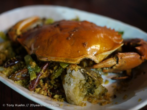 Spice crab