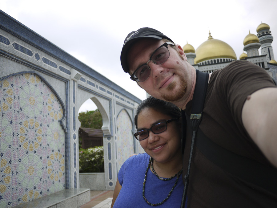 Six months ago we never would have dreamed we'd set foot in Brunei