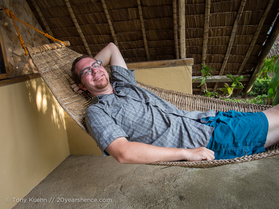 There are at least as many hammocks as there are islands, and trust me, three weeks is not enough for all of them!