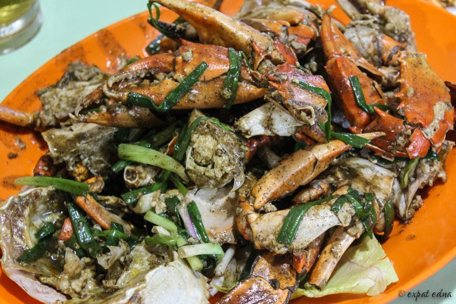 Black pepper crab, Singapore