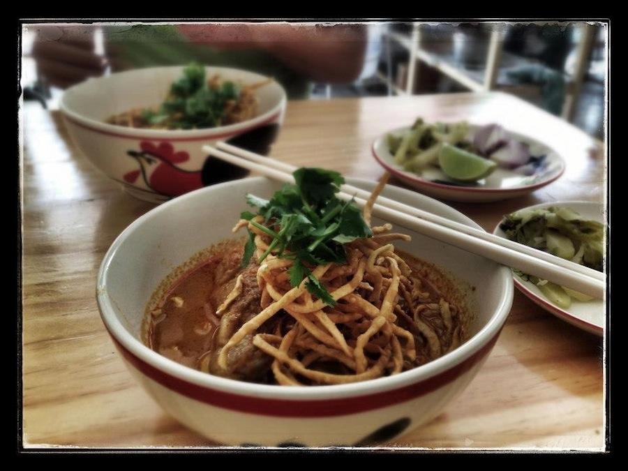 Khao soi – Gillian's all time favourite!