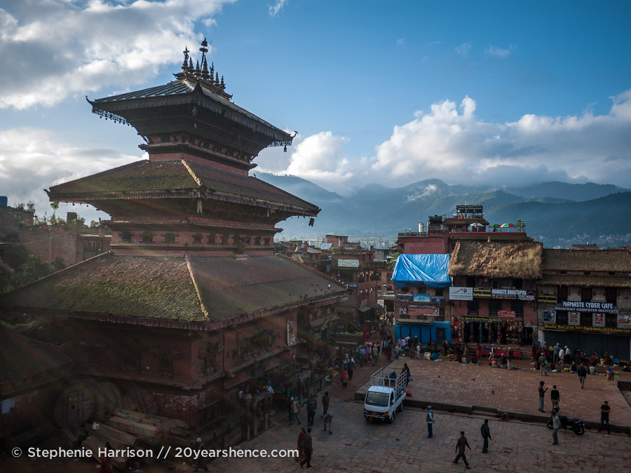 The main square of Bhaktapur