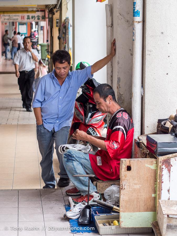 Men in Kuching, Malaysia