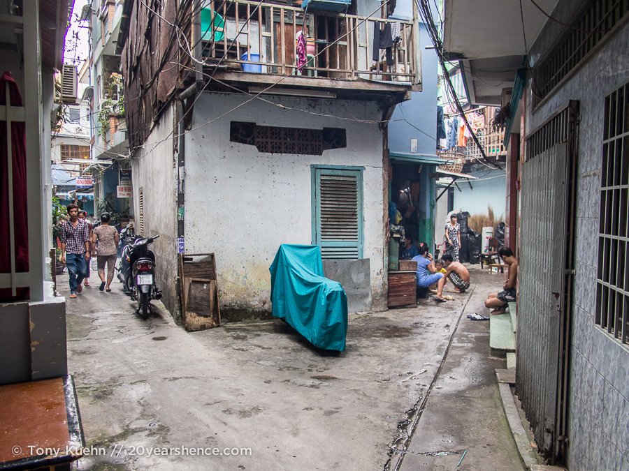 Hems (alleys) of Saigon