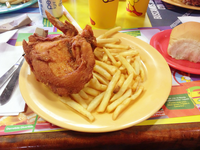 Fried Chicken from Pollo Campero