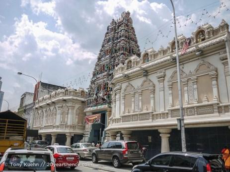 Hindu temple, Kuala Lumpur