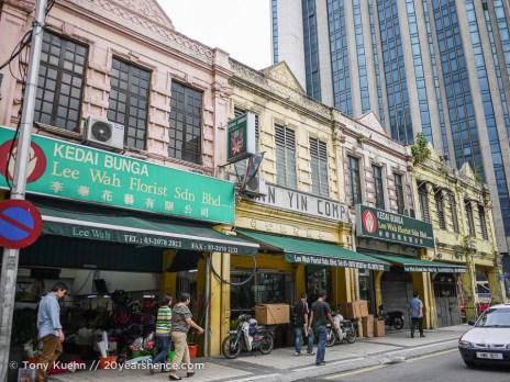 Colonial buildings, Kuala Lumpur