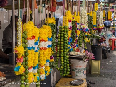 Hindu flower garlands