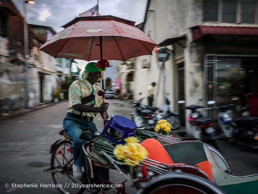 Cyclo, Georgetown, Penang, Malaysia