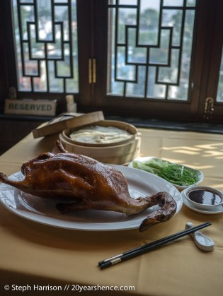 Roasted Peking duck