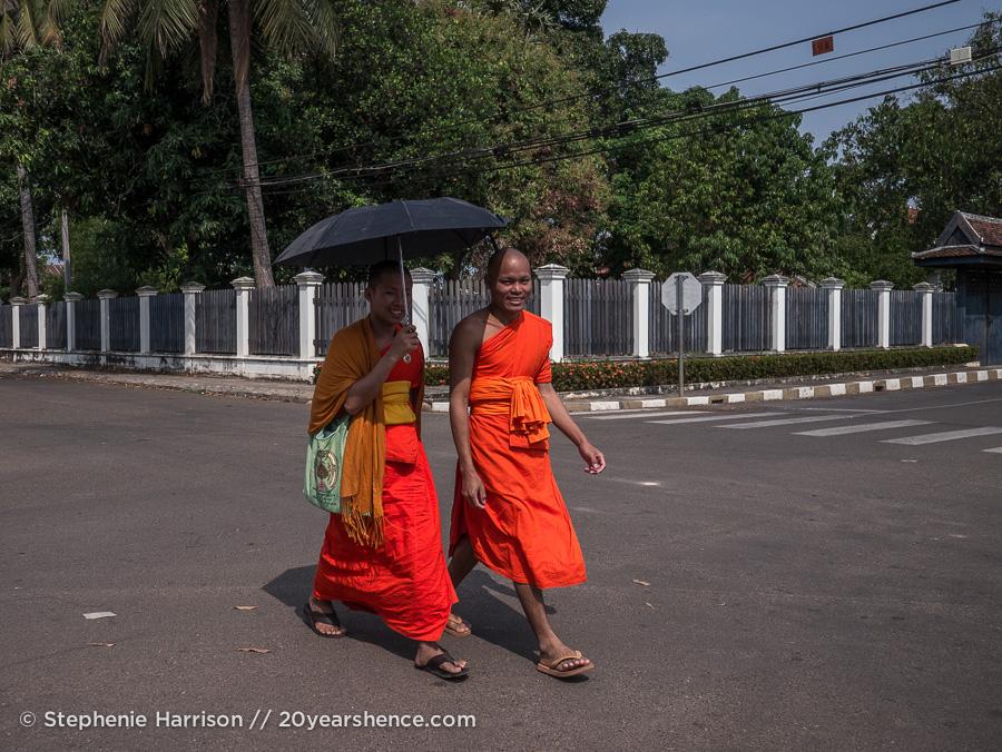 In Asia, umbrellas are for sun, not rain
