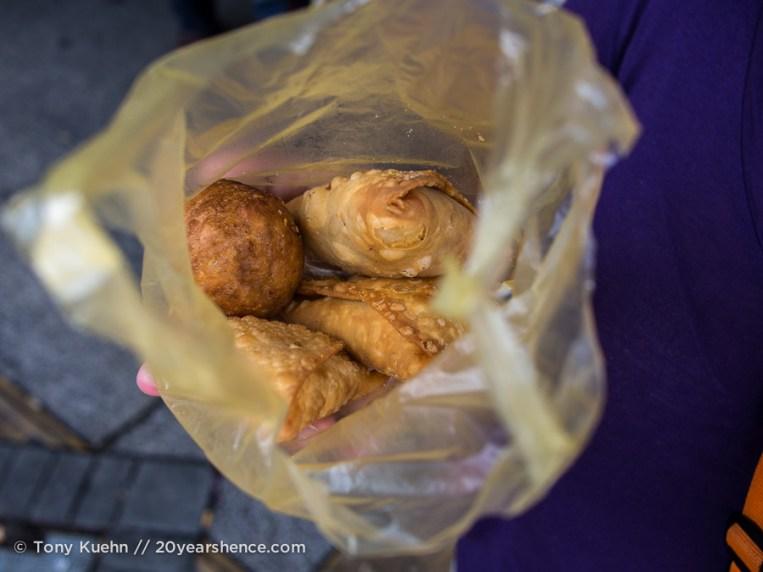Samosas in Penang