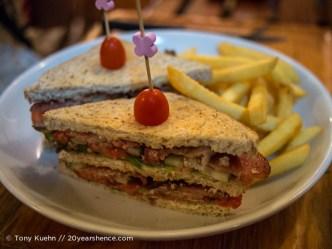 Bacon Club Sandwich