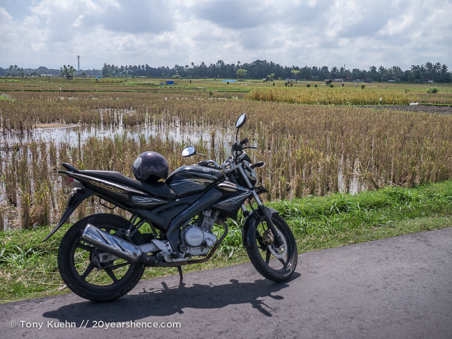Motorcycle in Indonesia