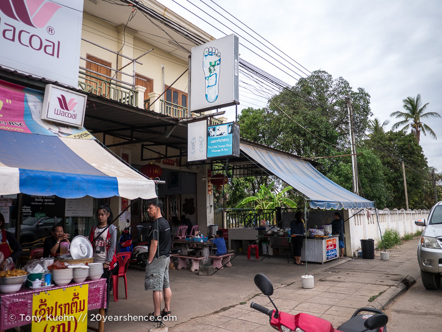 Soup stall in Savannakhet