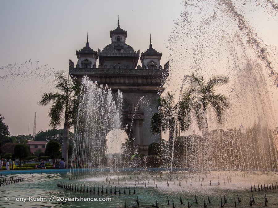 Patuxay, Vientiane