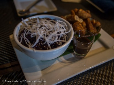 Sticky rice dessert