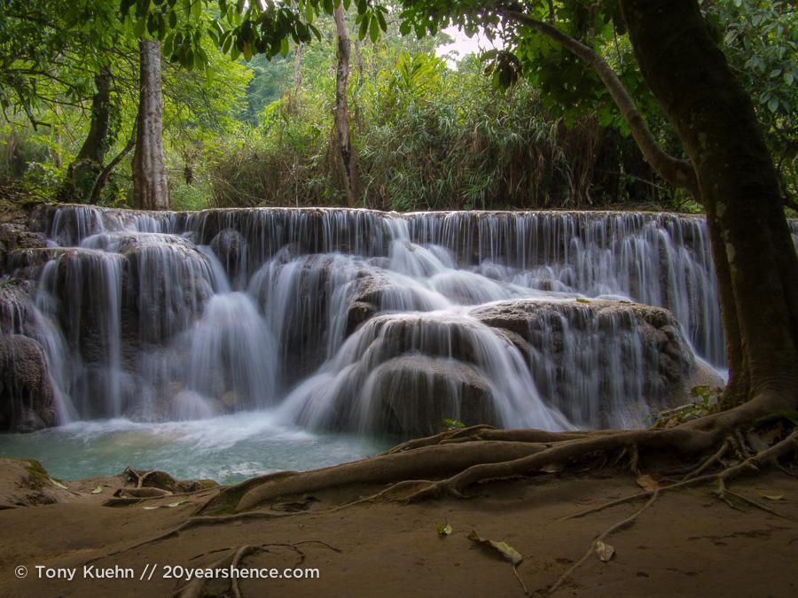 Kuangsi Waterfall