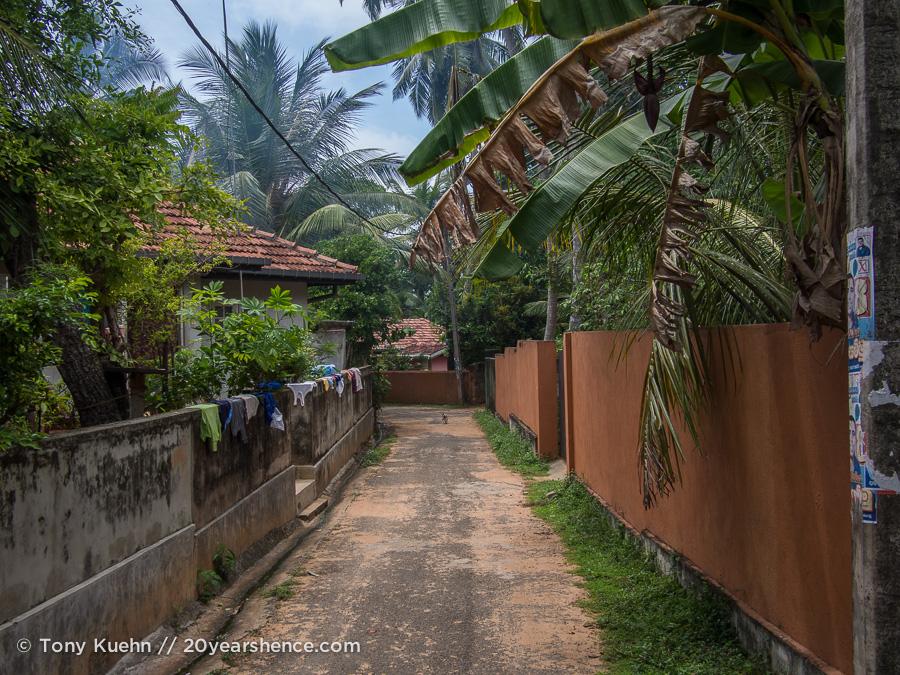 Laneways in Ambalangoda